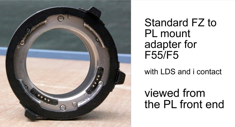 FZ to PL mount adapter