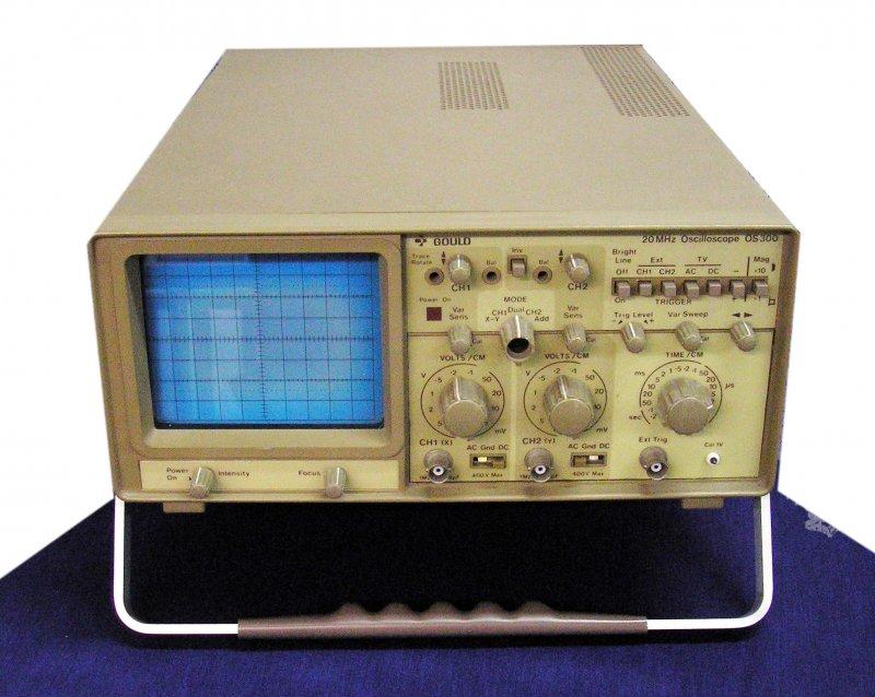 GOULD OS 300, dual Trace, 20 MHz Oscilloscope