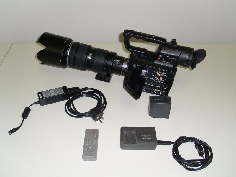 Panasonic AG-AF101E with HD-SDI Out