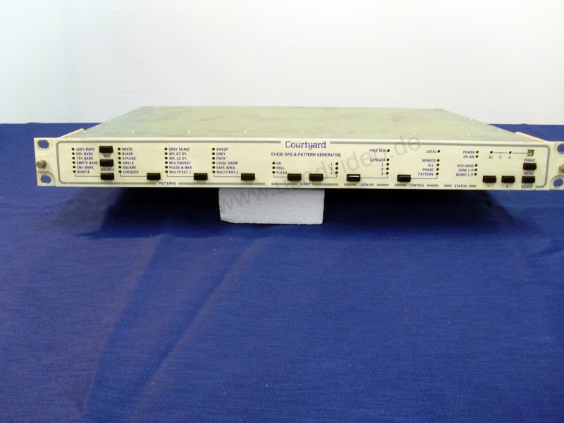Courtyard multiformat CY430 SPG / Patten Generator