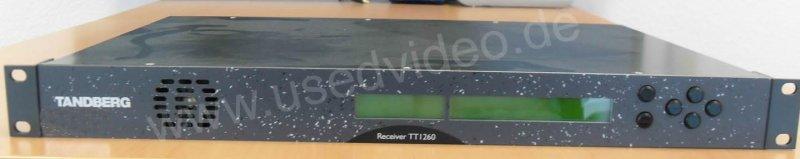Tandberg TT1260 MPEG-2 SD Receiver