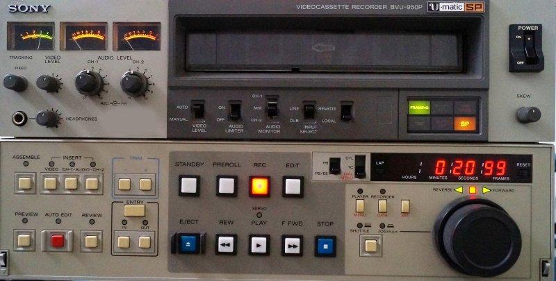 SONY UMATIC-SP BVU-950P