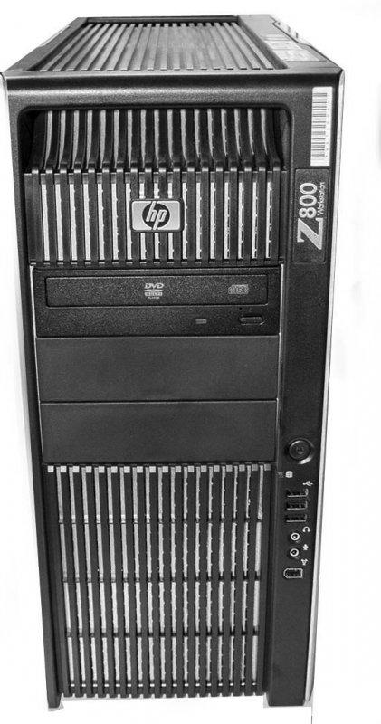 HP Z800 with Matrox XMIO2 HD mode
