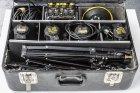 Dedolight Lichtkoffer 4x 100W mit viel Zubehör