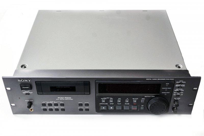 Sony DAT-Rec./Pl. PCM-R500 4-Motoren