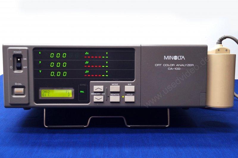 Minolta CRT Color Analyzer CA-100