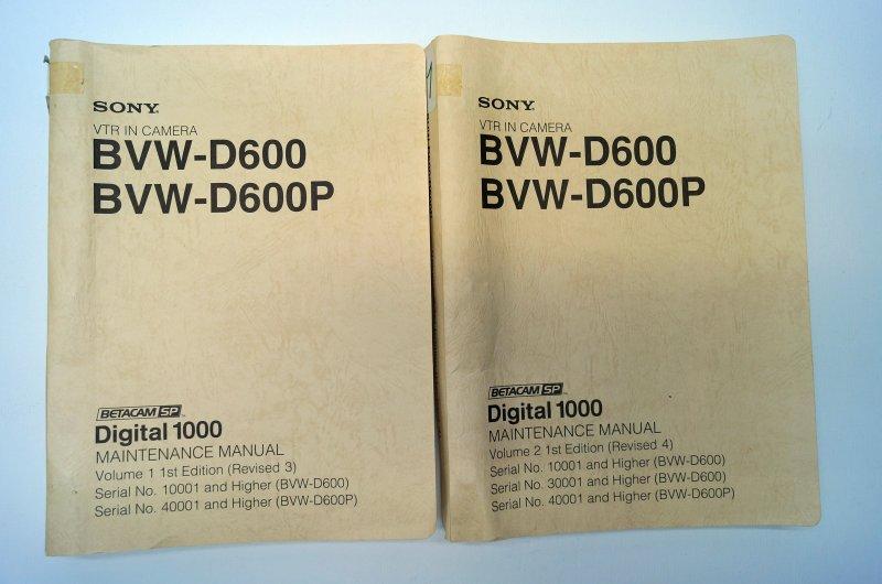 Service Manual BVW-D600
