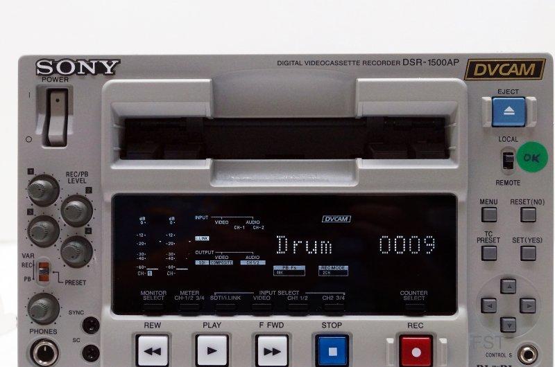 Sony DSR-1500AP DVCAM