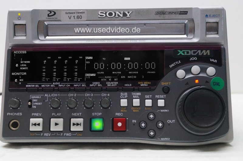 SONY PDW-1500